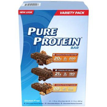 18 Count Pure Protein Bar Variety Pack (1.76 Oz bars)