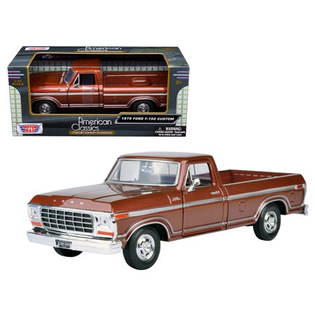 1979 Ford F-150 Pickup Truck Brown 1/24 Diecast Model Car by