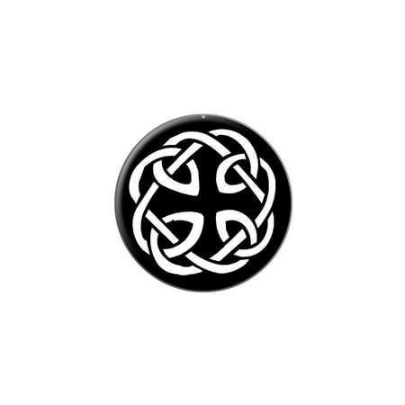 Celtic Knot Lapel Hat Pin Tie Tack Small Round