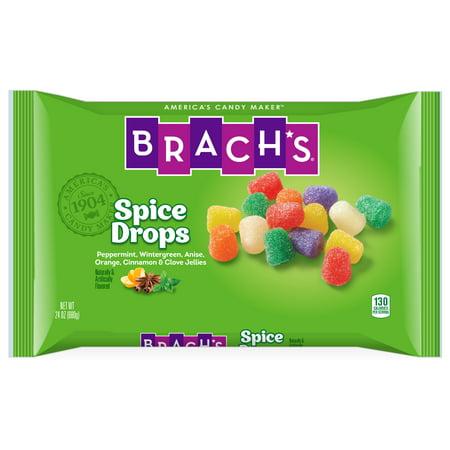 (2 Pack) Brach's, Spice Drops, Jelly Candy, 24 Oz