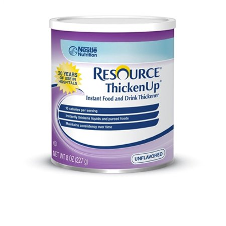 Resource Thickenup Food Thickener  8 Ounce  Unflavored  By Nestle   Case Of 12