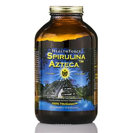 Spirulina Azteca poudre - 17,6 oz (500 g) de HealthForce Nutritionals