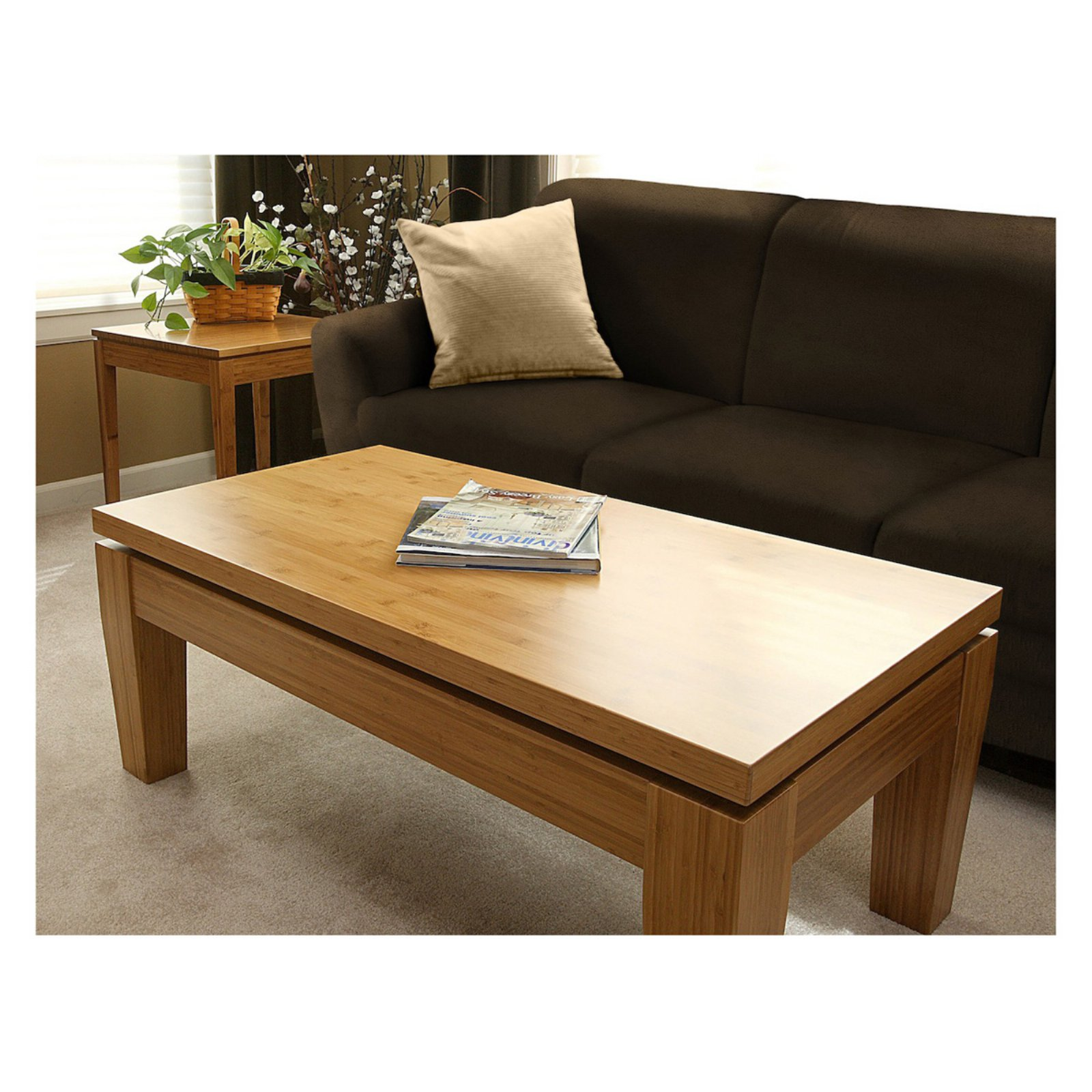 Bamboogle Rio Bamboo Large Coffee Table - Honey