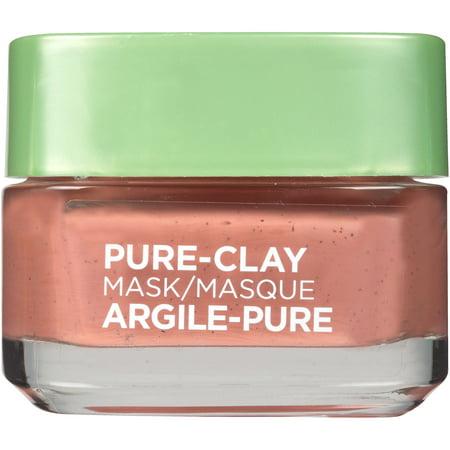Loreal Paris Pure Clay Mask Exfoliate And Refine Pores