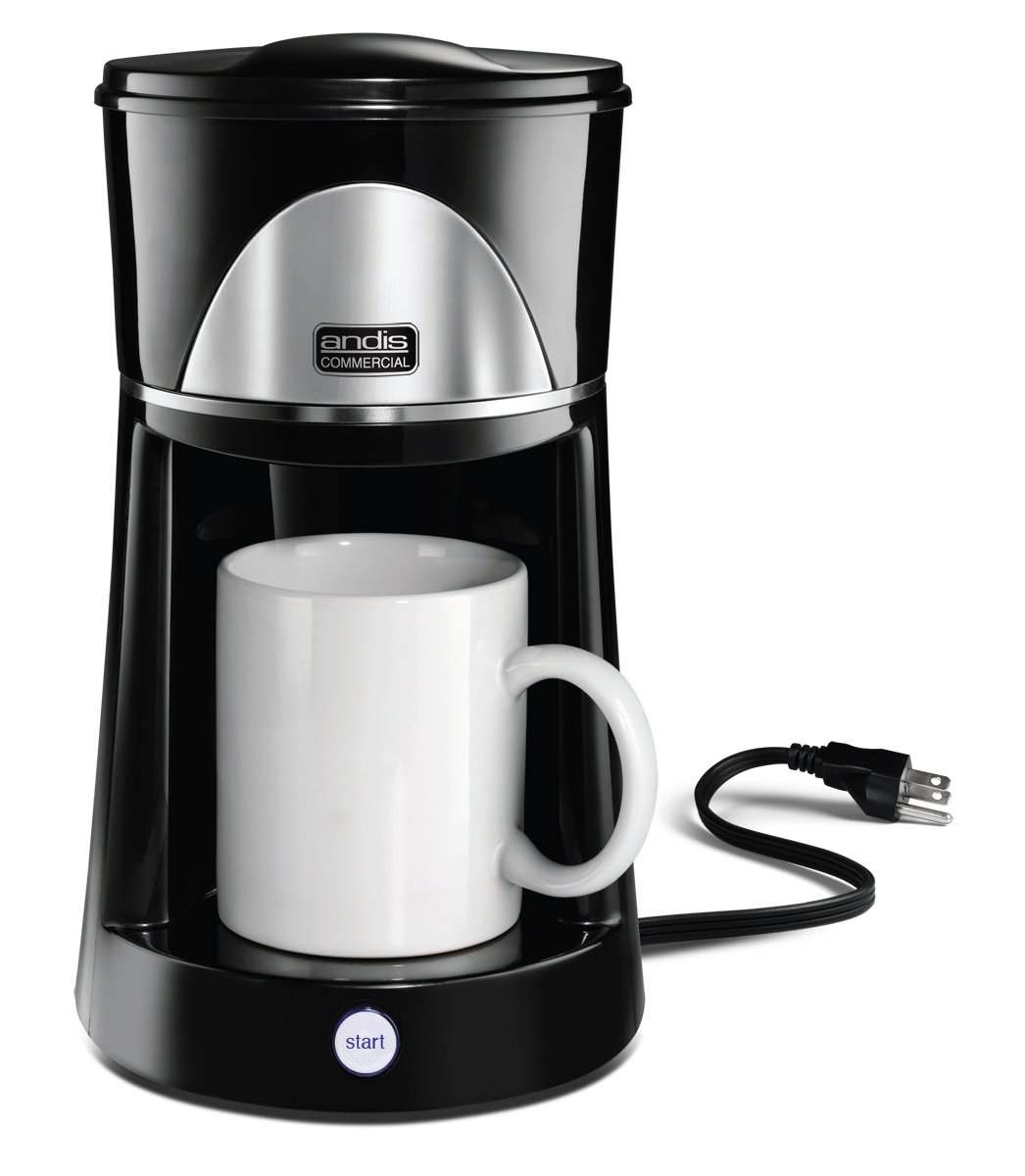 Andis 12 Oz 1 Cup Coffee Maker 60980 Black Walmartcom