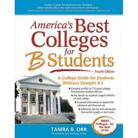 America's Best Colleges for B Students - eBook