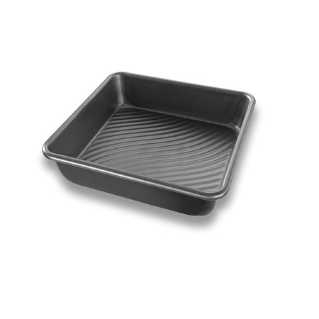 Patriot Pan Bakeware Aluminized Steel 8 Inch Square Cake Made In The USA Measures X 2 Inches By Ship