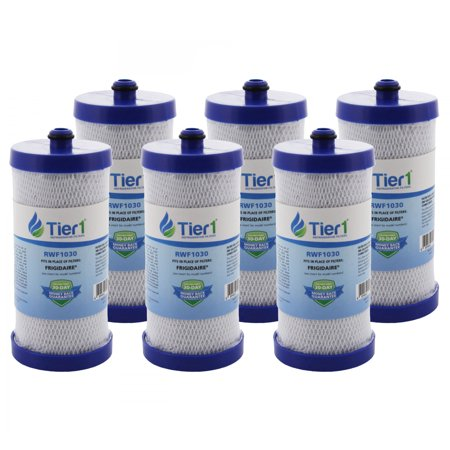 Tier1 Replacement for Frigidaire WF1CB PureSource, WFCB, RG100, WF284, NGR2000, Kenmore 469906, 469910 Refrigerator Water Filter 6 -