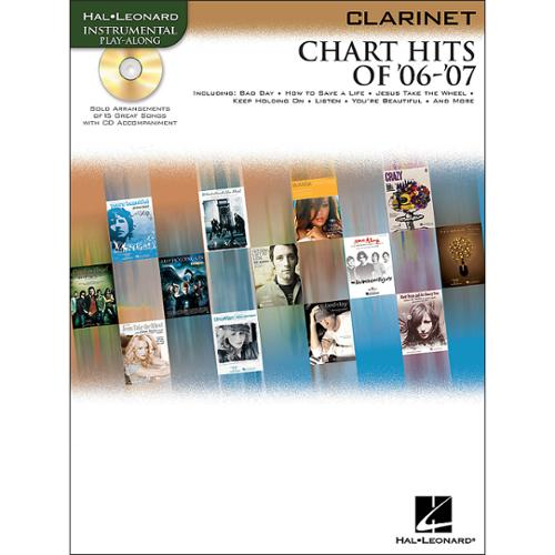 Hal Leonard Chart Hits of '06-'07 for Clarinet (Book and CD)