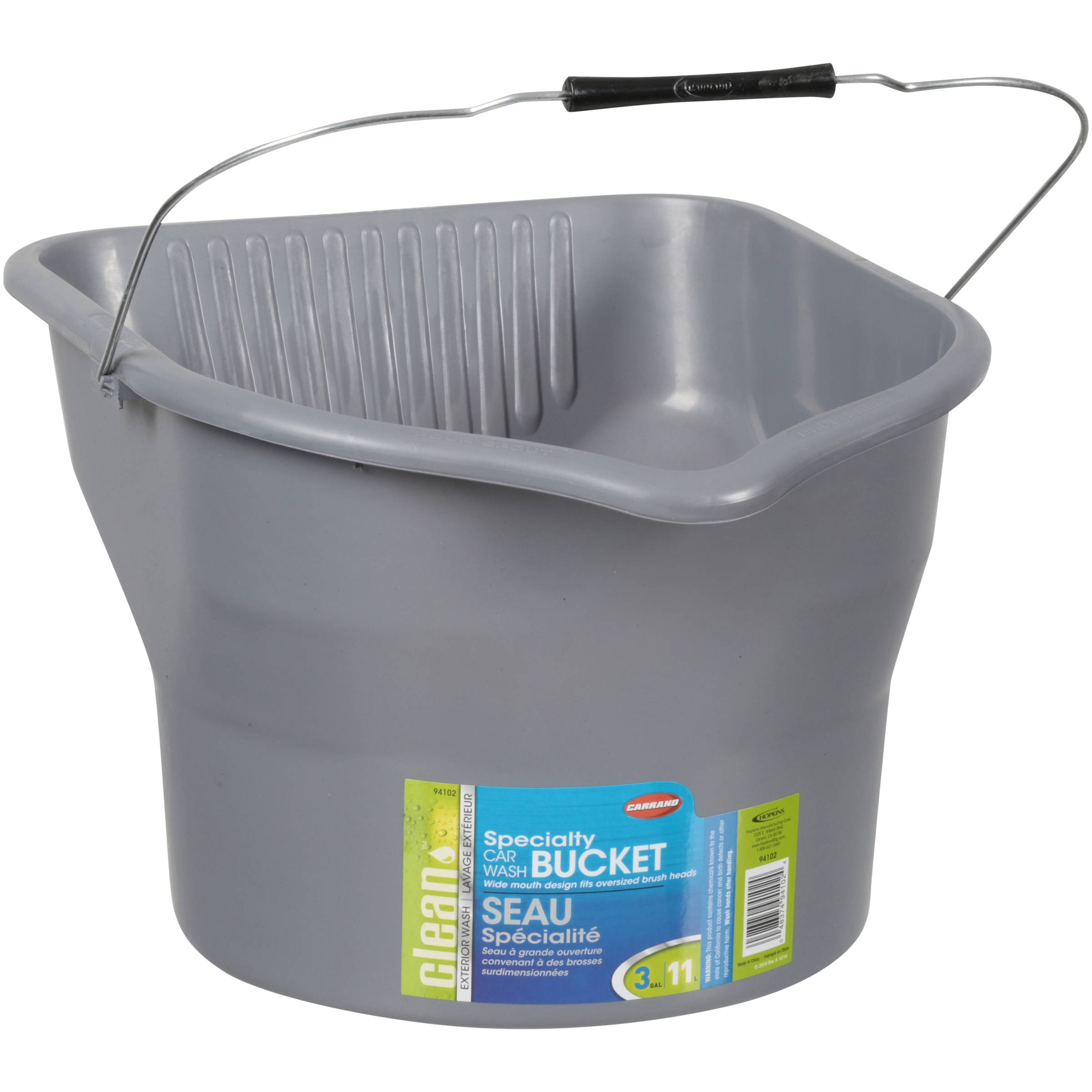 Carrand's 3 Gallon Specialty Car Wash Bucket
