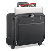 United States Luggage CLA9014 Pro Rolling Overnighter Case - Black & Gray, 16 in.