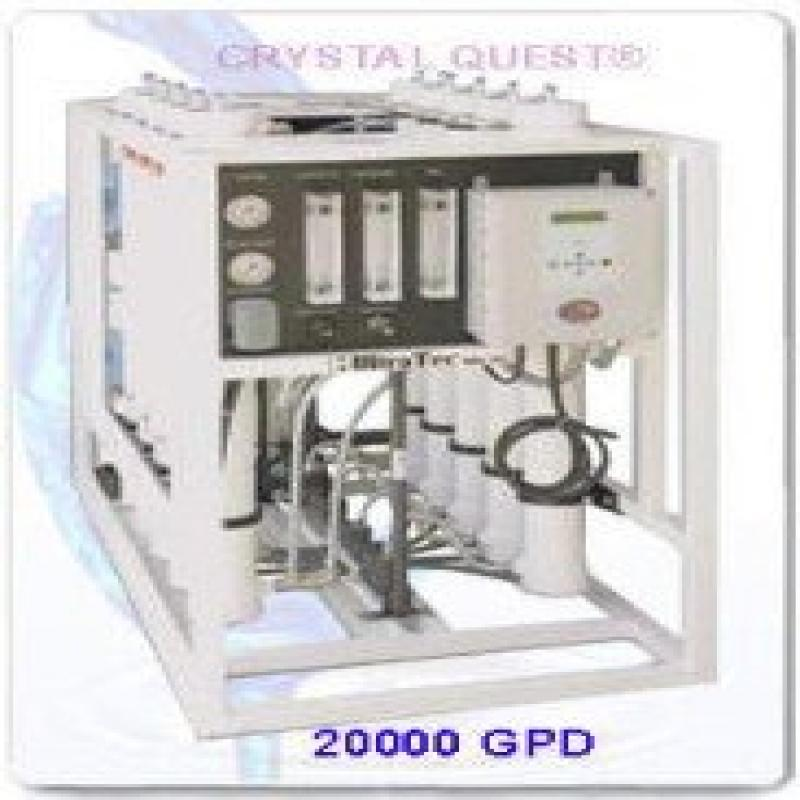 CRYSTAL QUESTHeavy CommercialReverse Osmosis 20,000 GPD Water Filter System