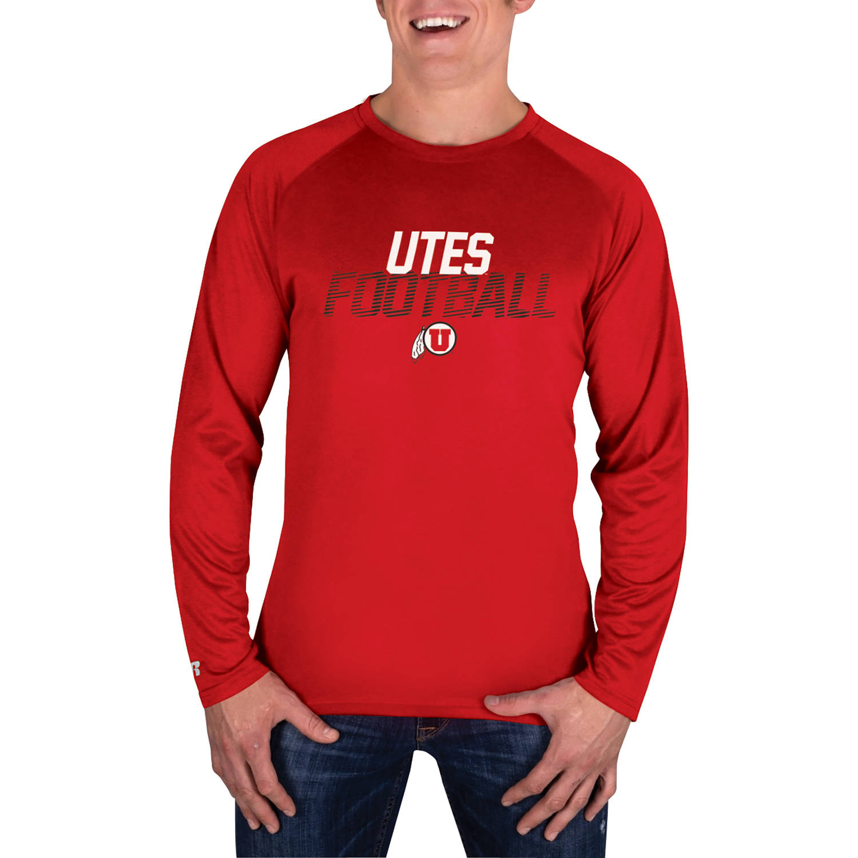 NCAA Utah Utes Men's Long Sleeve Impact T-Shirt
