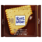 Ritter Sport Milk Chocolate Butter Biscuit, 3.5 oz