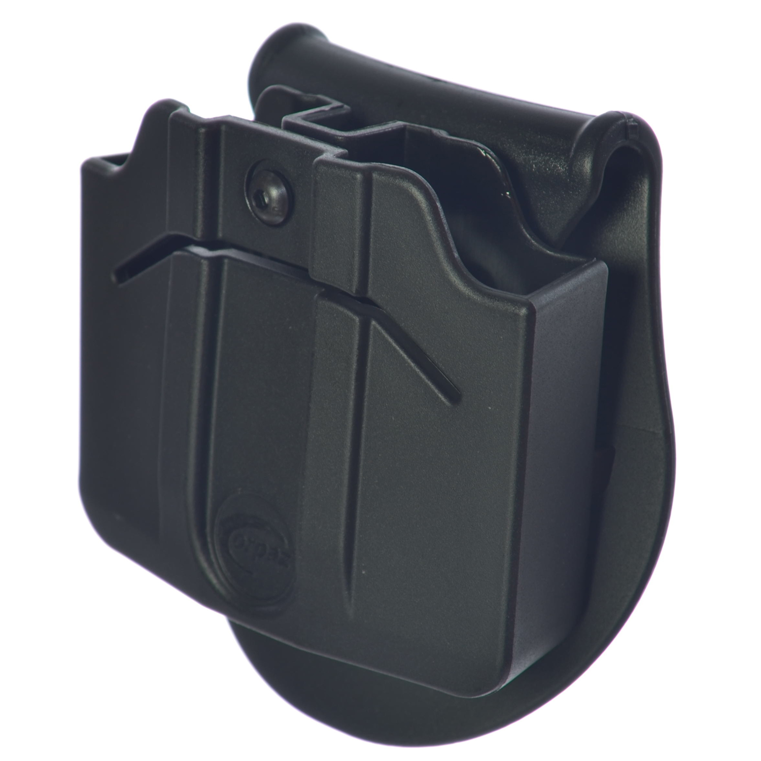 Orpaz Magazine Holster Holds 2 Double Stack 9mm METAL Magazines Fully Adjustable by Orpaz