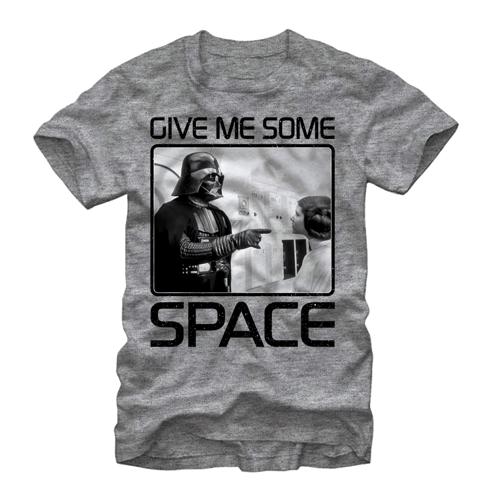 Star Wars Men's Give Me Some Space T-Shirt
