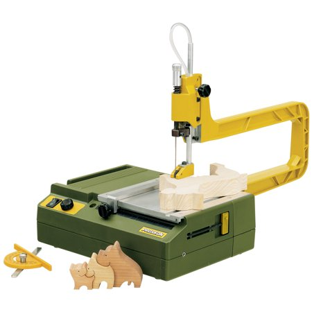 Proxxon 37088 Scroll Saw With Stable Ribbed Die Cast Aluminum Saw