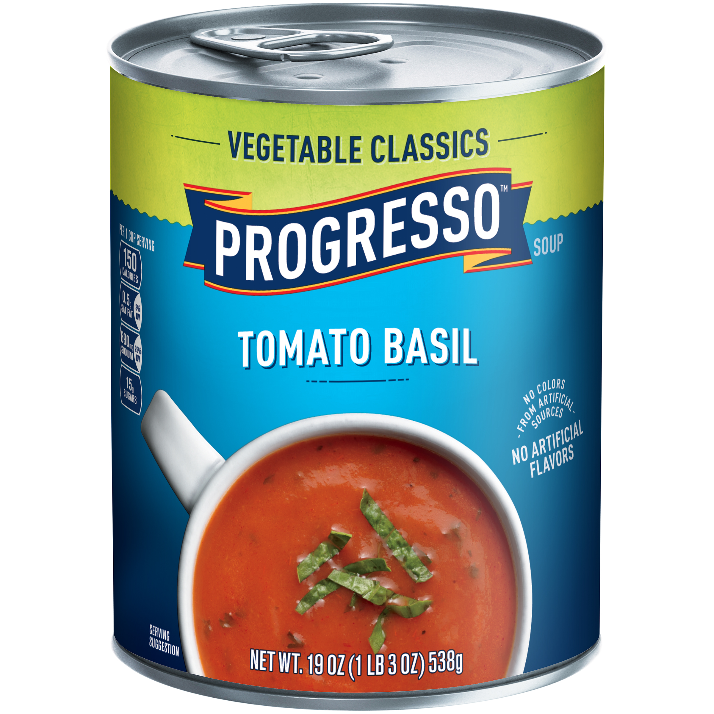 Progresso��� Vegetable Classics Tomato Basil Soup 19 oz. Can