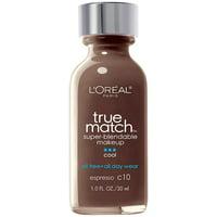 L'Oreal Paris True Match Super-Blendable Foundation Makeup, Classic Beige, 1 fl. oz.