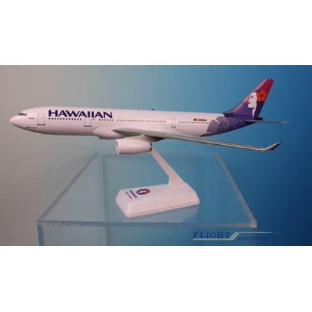Flight Model Kit - Flight Miniatures Hawaiian Airlines Airbus A330-200 1/200 Scale Model with Stand