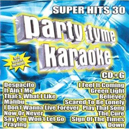 - Party Tyme Karaoke: Super Hits, Vol. 30 (CD)