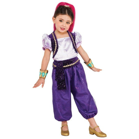Shimmer and Shine: Shimmer Deluxe Child Halloween Costume - Hillbilly Halloween Costumes Female