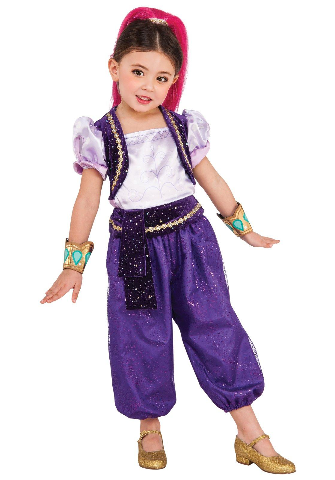 Shimmer and Shine Shimmer Deluxe Child Halloween Costume  sc 1 st  Walmart & Shimmer and Shine: Shimmer Deluxe Child Halloween Costume - Walmart.com