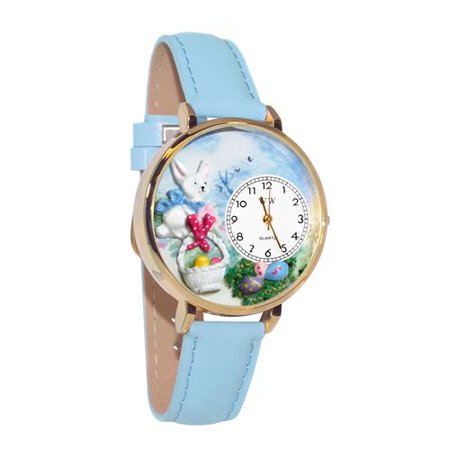 Whimsical Gifts Easter Eggs Watch in Gold (Large) - image 1 of 1