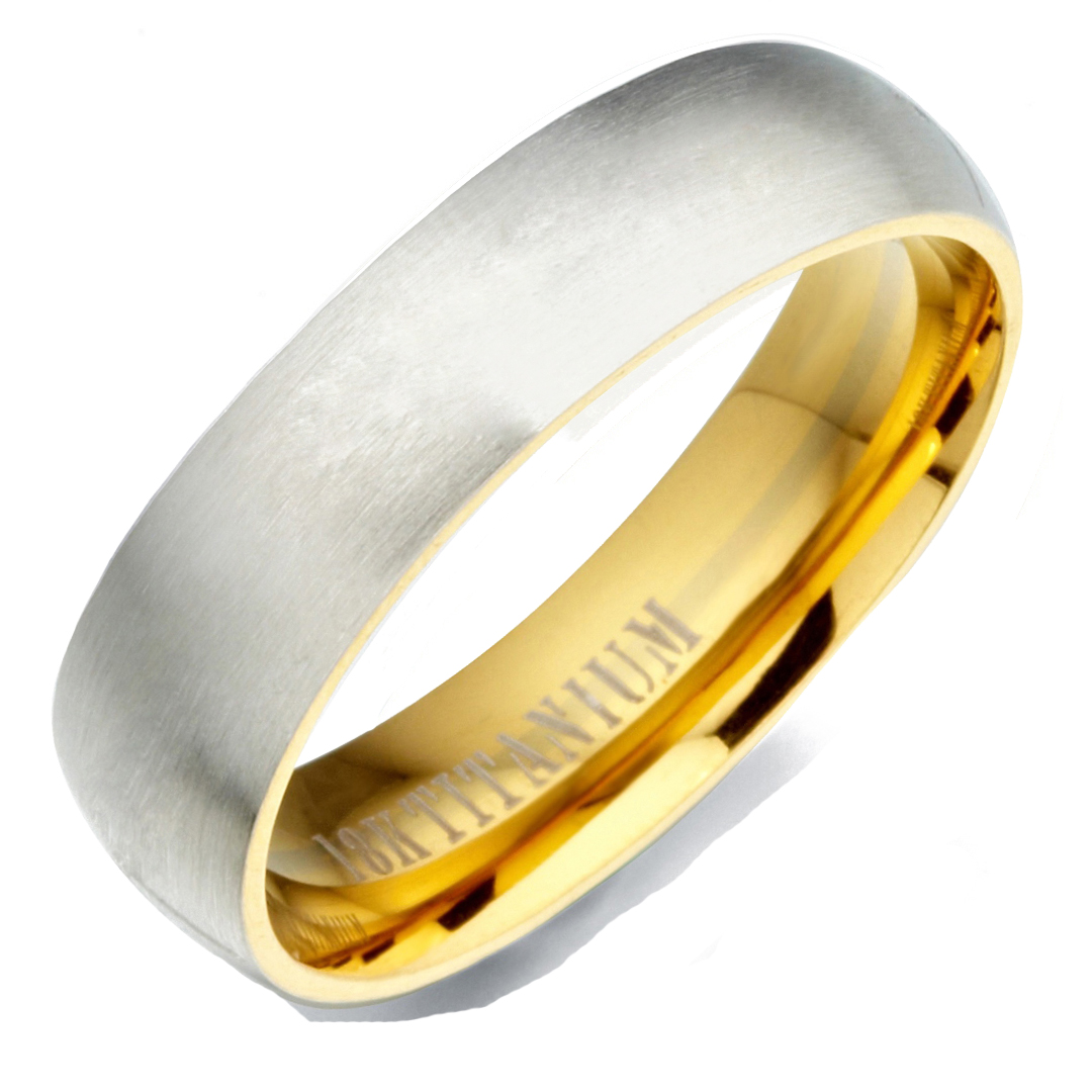 8.5 Gemini Groom /& Bride Two Tone Black /& Silver Brush /& Polish Titanium Wedding Ring Set Width 7mm /& 5mm Men Ring Size 7.5 Women Ring Size