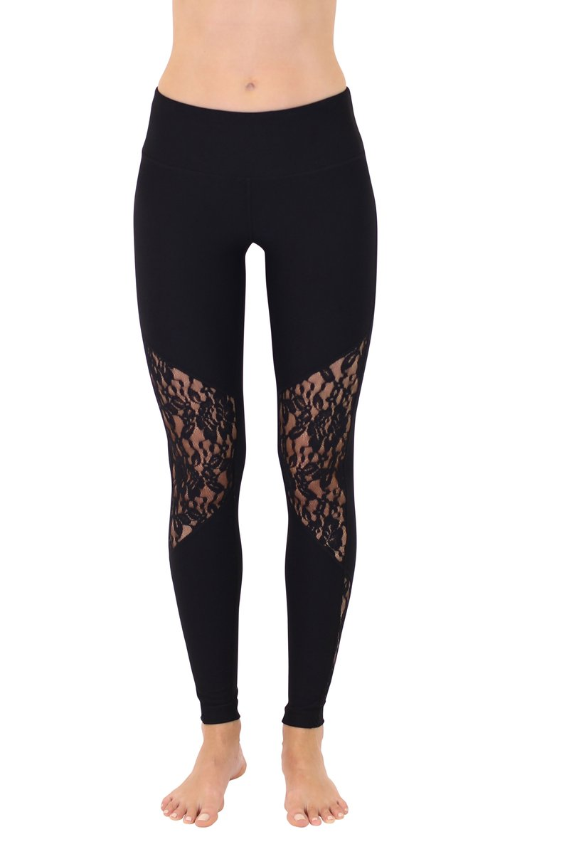 90 Degree By Reflex - Lace Insert Leggings
