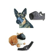 12 Pack Dog and Cat Grooming Muzzles, Groomers Muzzle Set by Pet Supply City