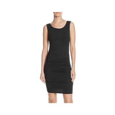 5bc26e680 VELVET BY GRAHAM & SPENCER Womens Stretch Ruched Tank Dress - Walmart.com
