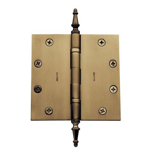 Baldwin 5.6'' H x 3.3'' W Ball Bearing Single Door Hinge