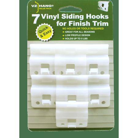 VZ Hang Vinyl Siding Hooks for Finish Trim 7 - Vinyl Siding Shield