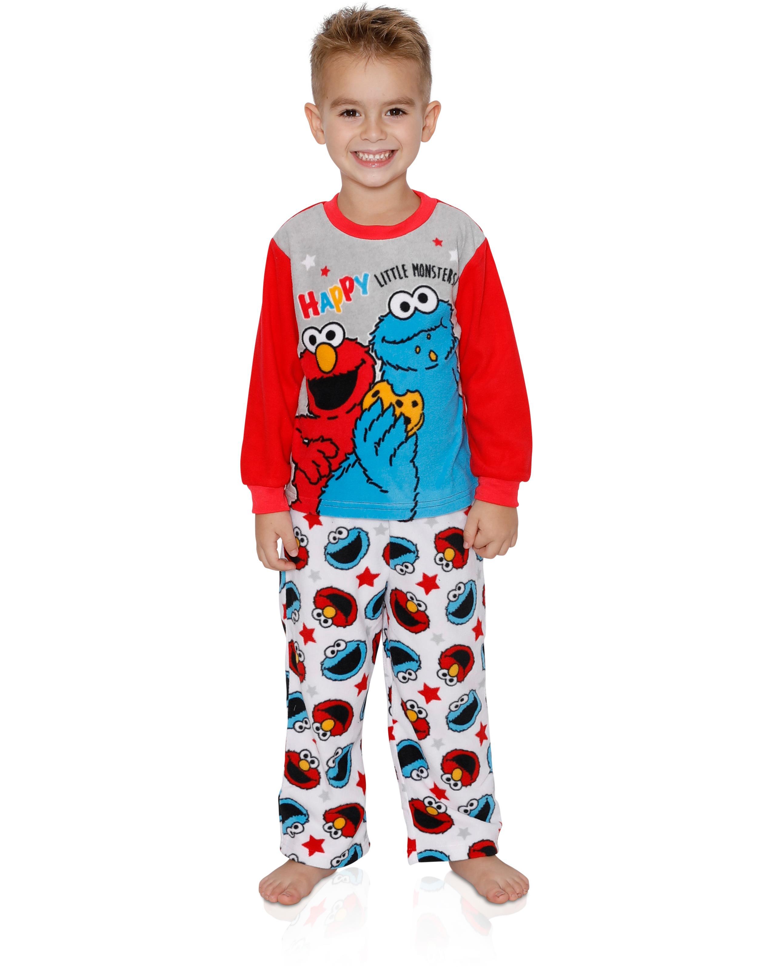 44550e56f Sesame Street Elmo Cookie Monster Baby Toddler Boys 2-Piece ...