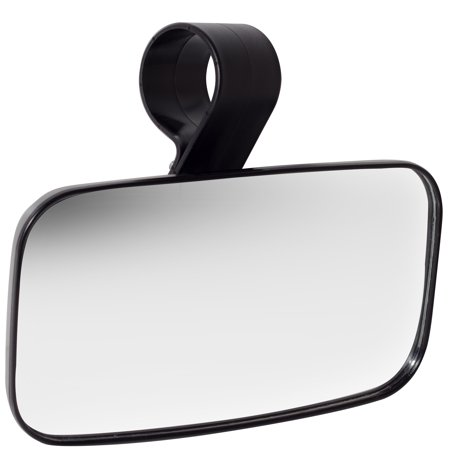 Oxgord Utv Clear Rear View Center Mirror   High Impact Abs Housing With Shatter Proof Tempered Glass Mirrors