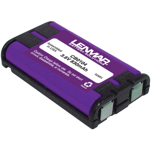 Lenmar CB0104 Panasonic KX-TG23xx and TG25xx Series Replacement Battery