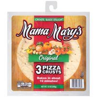 (2 Pack) Mama Mary's® Original Pizza Crusts 3 ct Pack