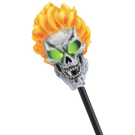 Morris Costumes Skull Eye Sockets Ghost Rider Staff Light Sticks, Style DG18358 for $<!---->