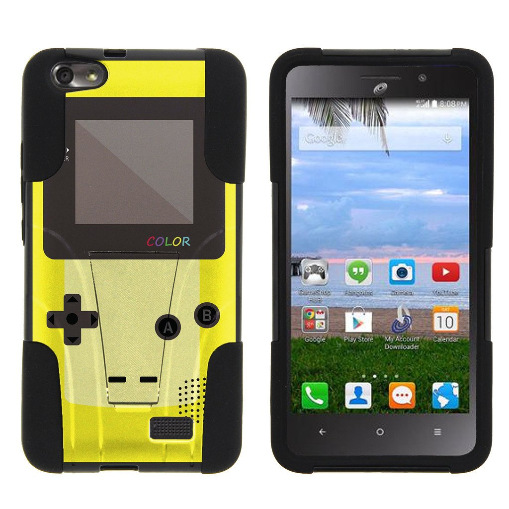 Huawei Raven LTE H892L STRIKE IMPACT Dual Layer Shock Absorbing Case with Built-In Kickstand - Latin Lover