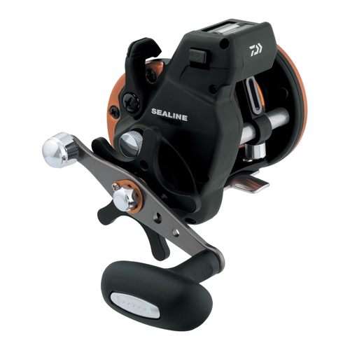 Daiwa Sealine SG-3B 4.2:1 Line Counter Conventional Reel, Right Hand, Power Handle - SG47LC3B