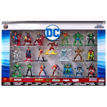 Nano Metalfigs DC Comics Diecast Figure 20-Pack (Robot Diecast Figure)
