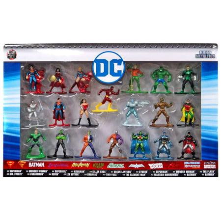 Version Diecast Figure - Nano Metalfigs DC Comics Diecast Figure 20-Pack