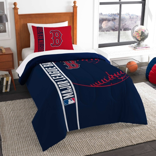 Boston Red Sox The Northwest Company Soft & Cozy 2-Piece Twin Bed Set - No Size