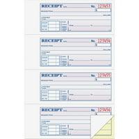Adams 2-Part Money/Rent Receipt Book, 200 Count