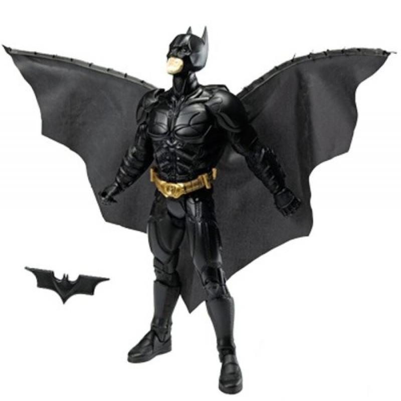 Mattel Batman Dark Knight Action Cape Figure by