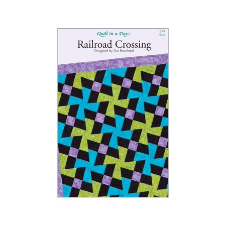 Quilt in a Day Railroad Crossing Ptrn - Railroad Crossing Costume