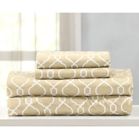 Home Fashion Designs Jasmine Collection Double Brushed Microfiber Sheet Set