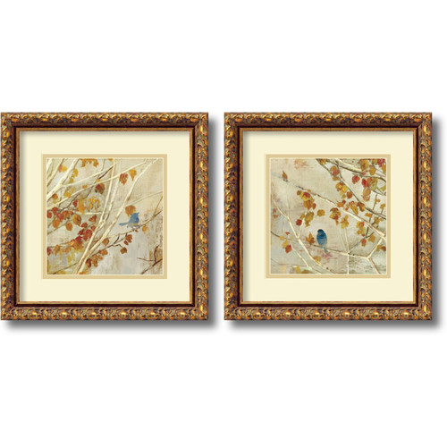 Amanti Art 'Singing' by Asia Jensen 2 Piece Framed Painting Print Set by Amanti Art