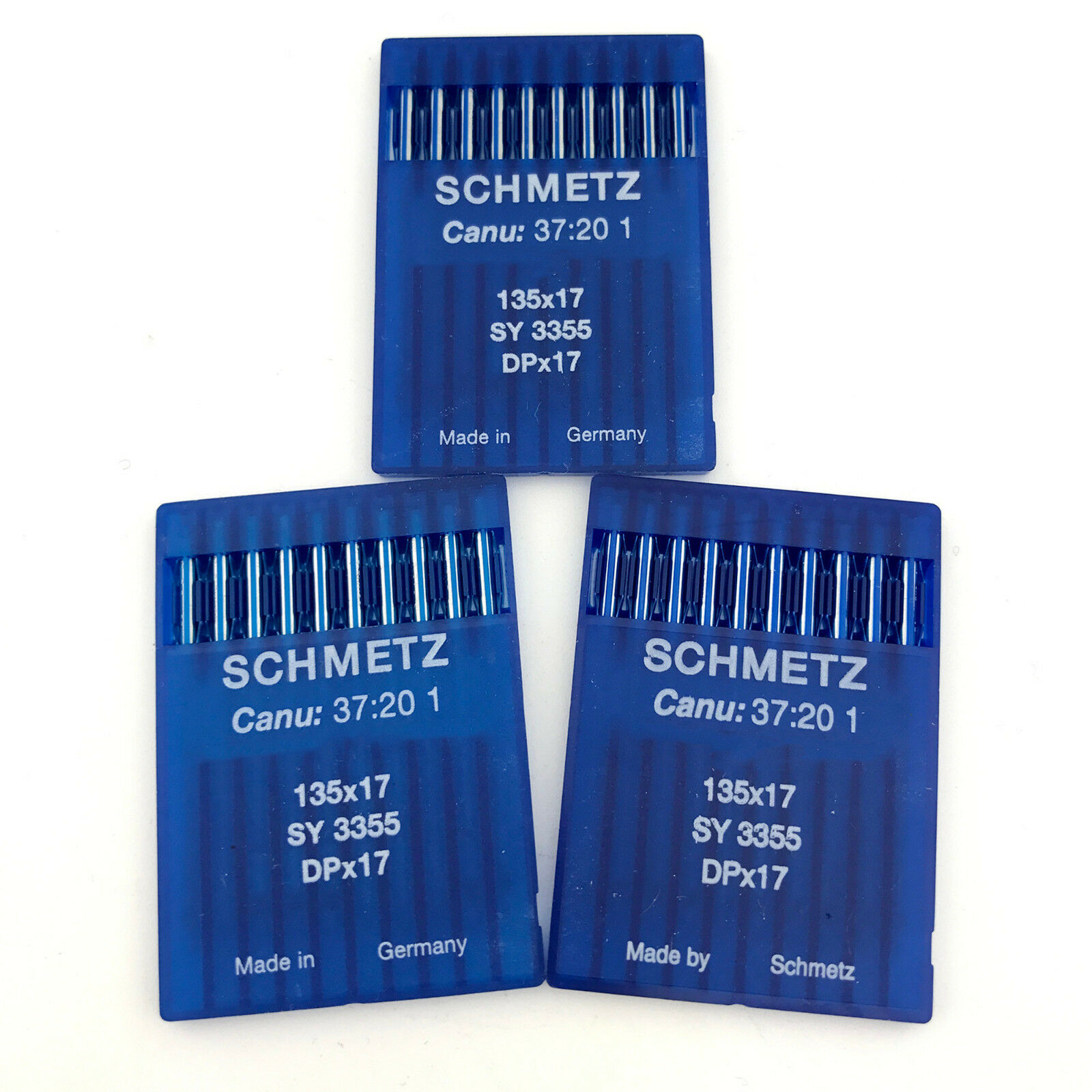 135X5 DPX5 CANU:20:05 1 Industrial Sewing Machine Needles Size 19 Metric 120 100 Schmetz 134 R